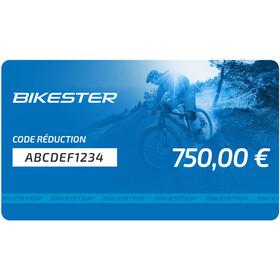 Bikester chéque cadeau - 750 €